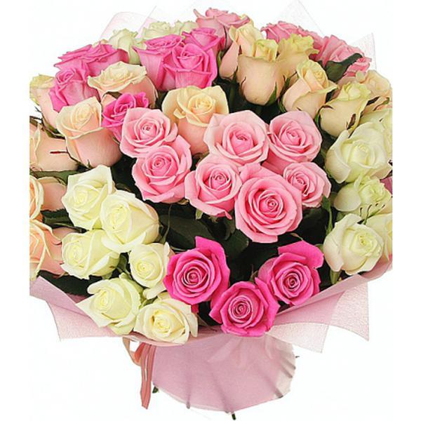 Открытки с днем рождения цветы розы букеты