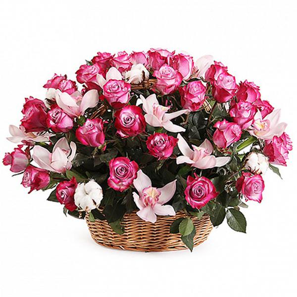 Купить шикарный букет цветов в спб, ирис