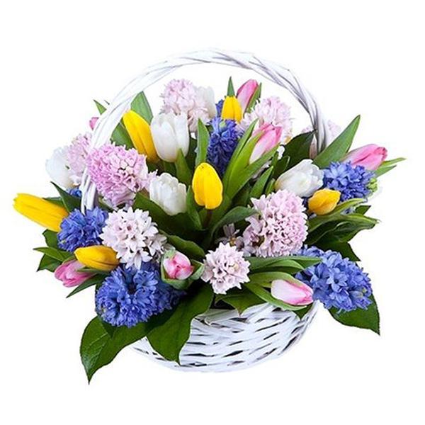 Весенний букет праздник для мамы, тверской